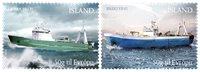 Island - Trawlers - Postfrisk sæt 2v