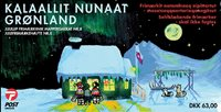 Groenland Noël 03 carnet neuf