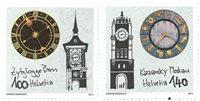 Suisse - Horloges - Emission commune avec Russie - Série neuve 2v