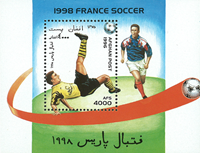 Afghanistan - FIFA World Cup - Mint souvenir sheet and set of 6v