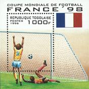 Togo - Fodbold VM - Postfrisk miniark og sæt 6v