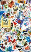 Rusland - 500 mærker + 50 miniark - Postfrisk - 10  pakker