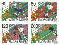 Bulgarie - Championnat du Monde de football - Série neuve 4v