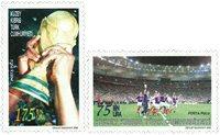 Tyrkisk Cypern - Fodbold VM - Postfrisk sæt 2v