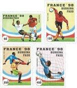 Burkina Faso - Coupe du Monde de football - Série neuve 4v