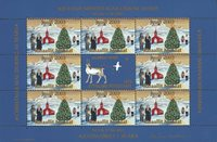 Greenland - Mini Christmas sheets 2003 - Mint - Imperforated