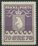 Grønland - Pakkeporto - AFA nr. 10 postfrisk