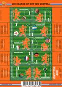 Holland - Fodbold VM - Postfrisk 10-ark