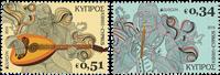 Cypern - Europa 2014 - Postfrisk sæt 2v