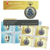 Schweiz - Pro Patria - Postfrisk frimærkehæfte