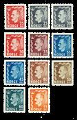 Norway HK - 393-403 - Mint