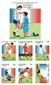 Cambodia - FIFA World Cup - Mint souvenir sheet and set of 6v
