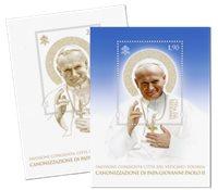 Vatican - Canonisation des Papes - Serie de 2 Bloc-feuillets neufs