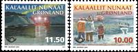 Grønland - Norden 2014 - Postfrisk sæt 2v