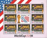 Feuillet Coupe du Monde 1994 - Le Brésil