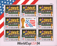Brazil 1994 - FIFA World Cup - Sheet