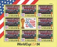 Feuillet de la Coupe du Monde de football en 1994 - La Norvège