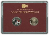 Norge klassisk møntsæt 2014