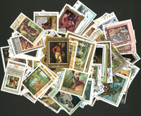 Paintings - 250 stamps