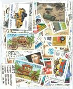 200张不同有关交通运输的邮票
