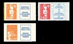Frankrig, 3 specielle dagligmærker