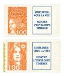 France - 2 timbres d'usage courant - spécialités
