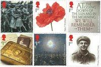 外国邮票 英国邮票 2014 新邮 第一次世界大战100周年纪念邮票 - 新票套票6枚