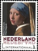 Pays-Bas - Tableau Jan Vermeer - Timbre neuf