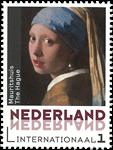Holland - Jan Vermeer maleri - Postfrisk frimærke