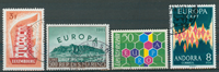 Europa CEPT samling 1956-75