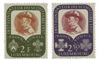 Luxembourg 1957 - Neuf - Michel 567-68