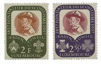Luxemborg 1957 - Postfrisk - MICHEL 567-68
