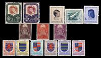 Luxemburg 1957 - Postfris