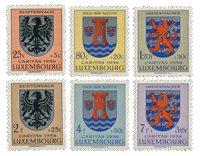 Luxemborg 1956 - Postfrisk - MICHEL 561-66