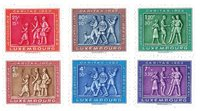 Luxembourg 1953 - Neuf - Michel 517-22