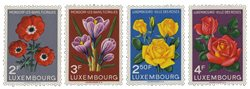 Luxemborg 1956 - Postfrisk - Michel 547-59