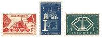 Luxemborg 1956 - Postfrisk - Michel 552-54