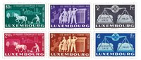 Luxembourg 1951 - Neuf - Michel 478-83