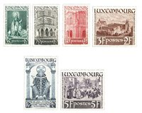 Luxemborg 1938 - Ubrugt - MICHEL 309-14