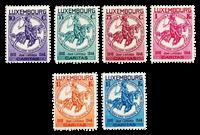 Luxembourg 1934 - Neuf avec charnière - Michel n°259-64