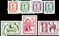 Belgien 1956 - OBP 998-1004 - Ubrugt