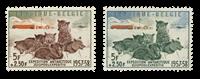 Belgique 1957 - Neuf avec charnière - OBP 1030-31