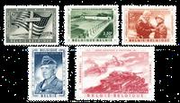 Belgique 1957 - Neuf avec charnière - OBP 1032-36