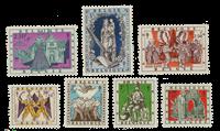 Belgique 1957 - Neuf avec charnière - OBP 1039-45