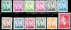 Belgien 1958 - OBP 1066-75
