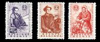 Belgique 1960 - Neuf avec charnière - OBP 1128-30