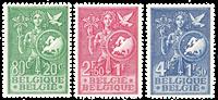 Belgique 1953 - Neuf avec charnière - OBP 927-29