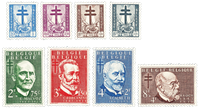 Belgien 1953 - OBP 930-37 - Ubrugt