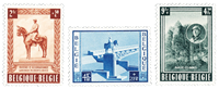Belgien 1954 - OBP 938-40 - Ubrugt