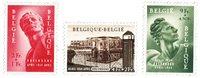 Belgique 1954 - Neuf avec charnière - OBP 943-45